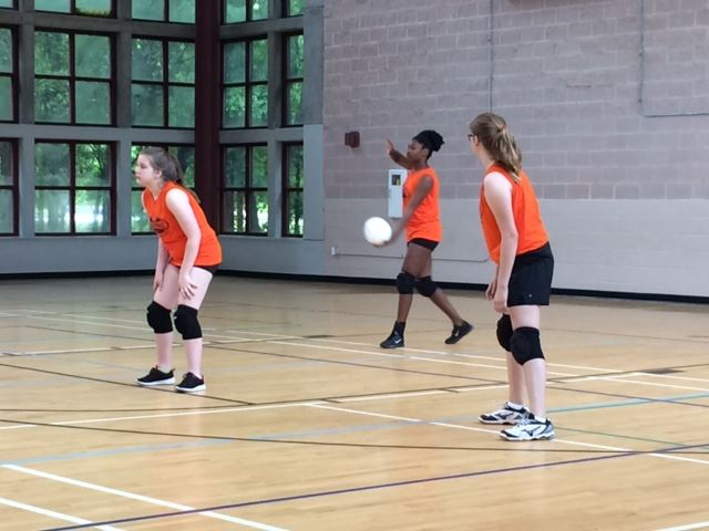 Girls Volleyball League