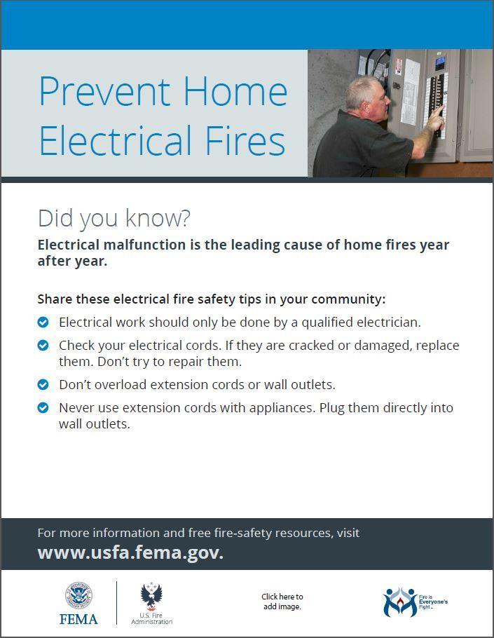 Prevent Home Electrical Fires