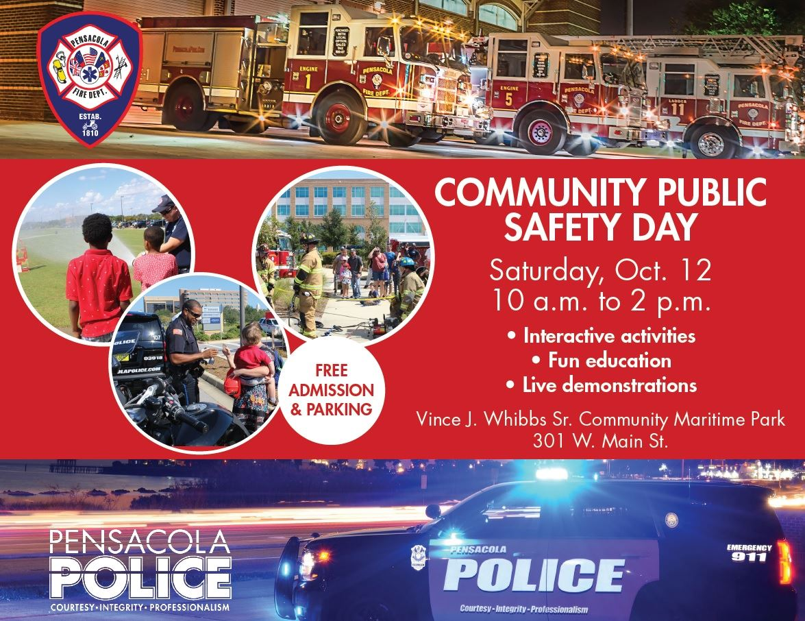 Public Safety Day flyer