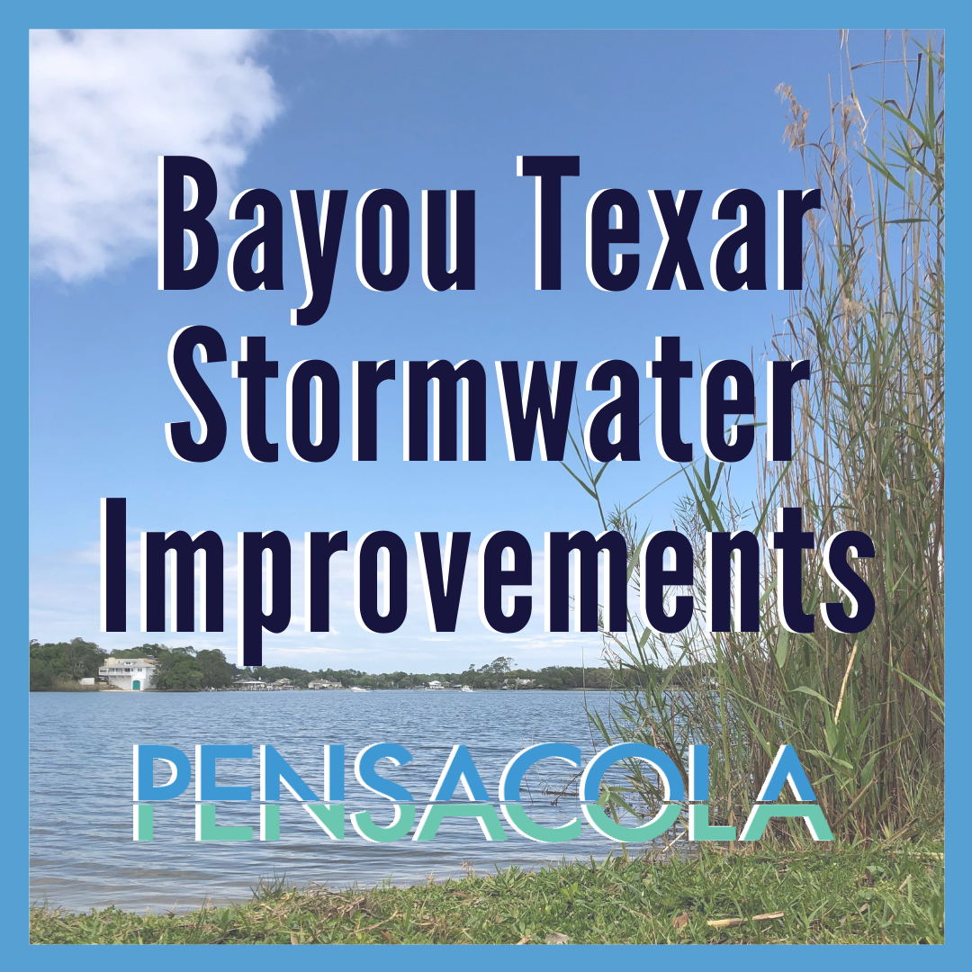 Bayou Texar Stormwater Improvments