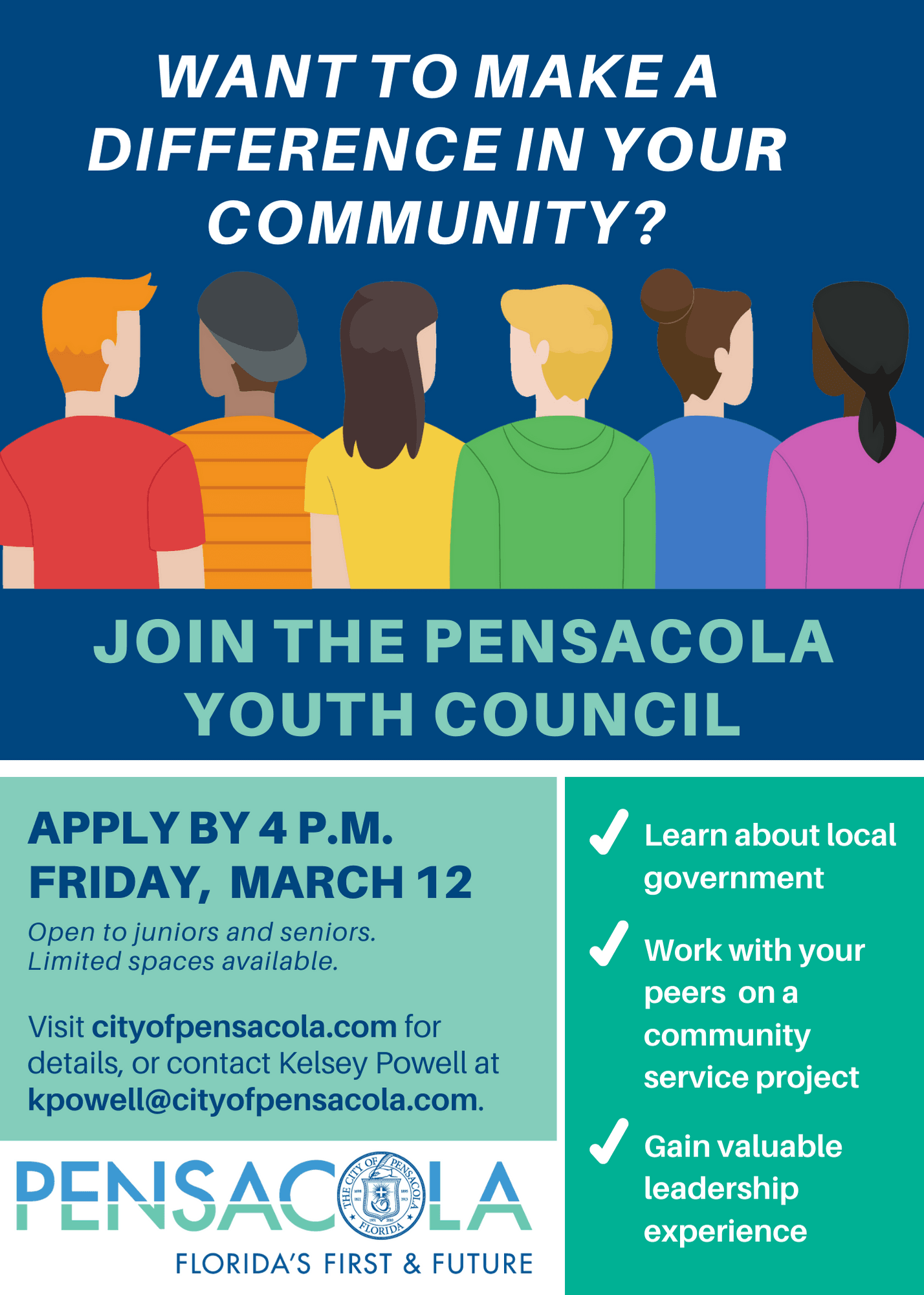 Youth Council flyer