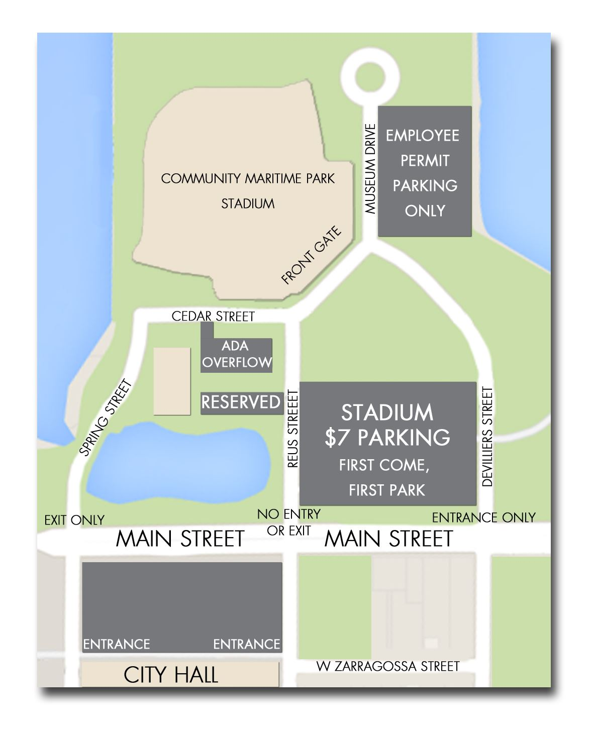 2015 Parking Map