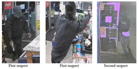 Two Smart Fill robbery suspects