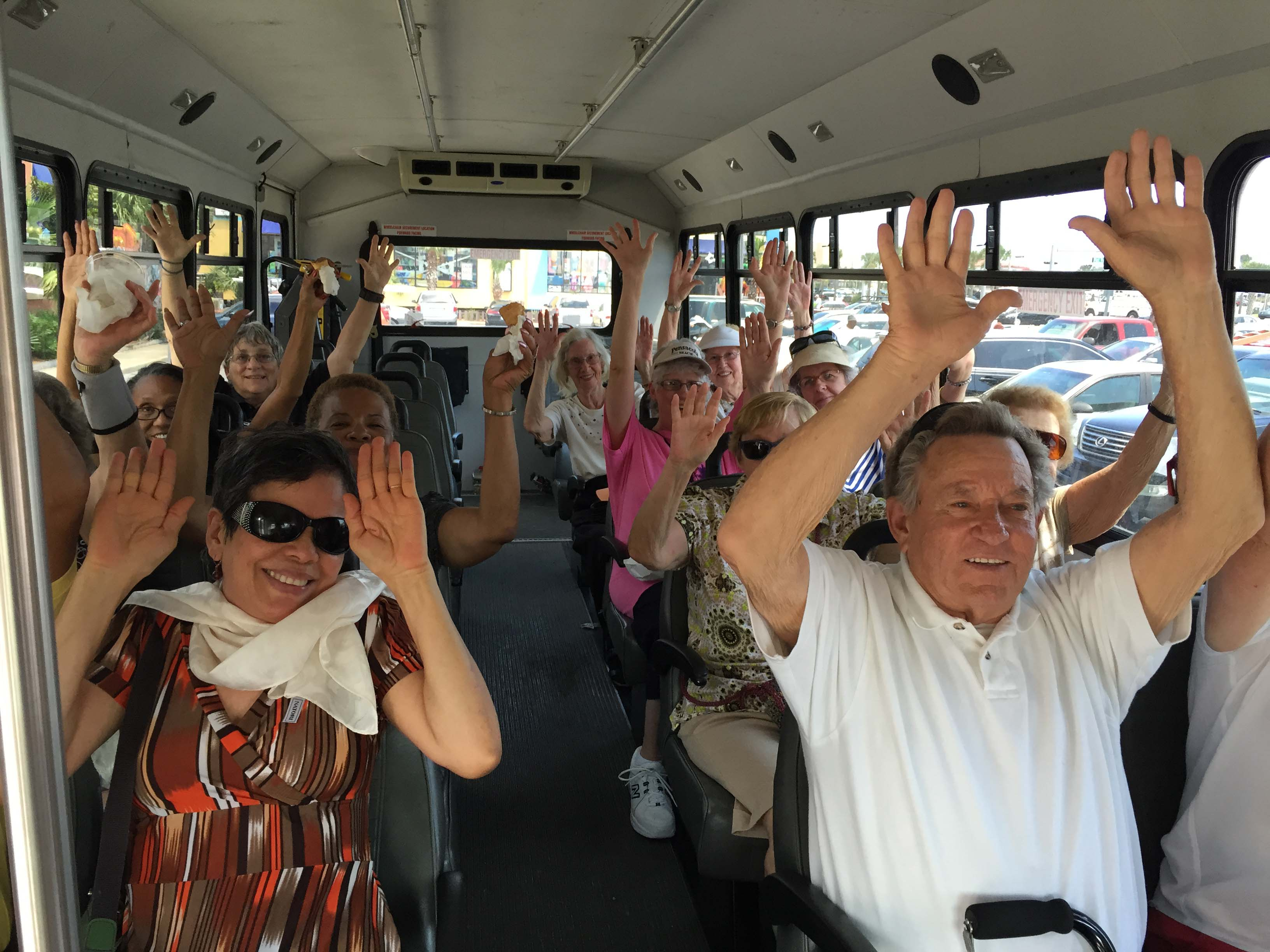 Bayview Seniors bus ride to the beach
